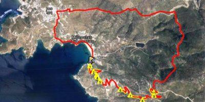 map itc 14km
