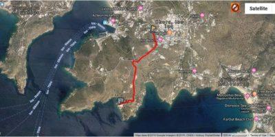 b_chora_-_kolitsani map
